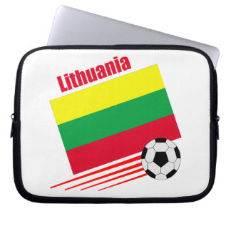 Lithuania Soccer Team Laptop Computer Sleeves