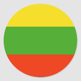 Lithuania Round Sticker