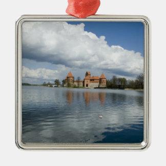 Lithuania, Trakai. Island Castle Metal Ornament