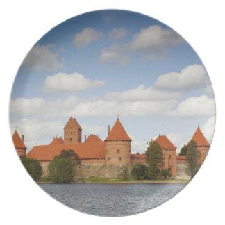 Lithuania, Trakai, Trakai Historical National 2 Plate