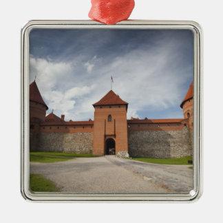Lithuania, Trakai, Trakai Historical National 4 Metal Ornament