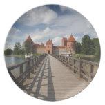 Lithuania, Trakai, Trakai Historical National Melamine Plate