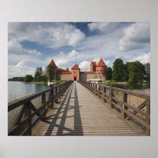 Lithuania, Trakai, Trakai Historical National Poster