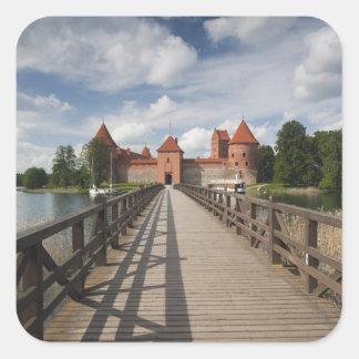 Lithuania, Trakai, Trakai Historical National Square Sticker