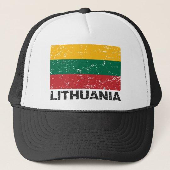 Lithuania Vintage Flag Trucker Hat