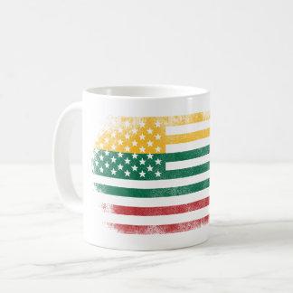 Lithuanian American Flag   Lithuania and USA Coffee Mug