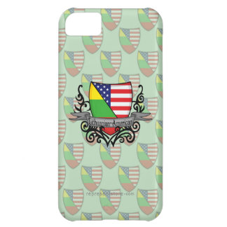 Lithuanian-American Shield Flag iPhone 5C Case