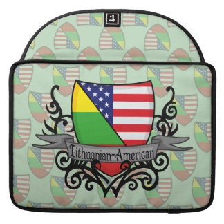 Lithuanian-American Shield Flag Sleeve For MacBook Pro