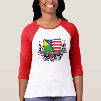 Lithuanian-American Shield Flag T-Shirt