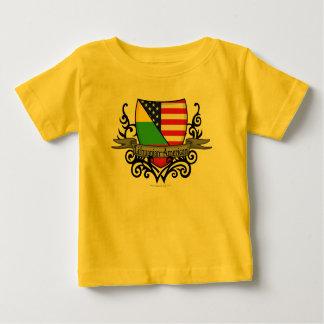 Lithuanian-American Shield Flag Tshirt