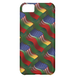 Lithuanian-American Waving Flag iPhone 5C Cover
