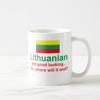 Lithuanian apuesto taza