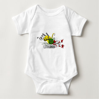 Lithuanian attributes baby bodysuit