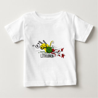 Lithuanian attributes baby T-Shirt