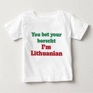 Lithuanian Borscht Baby T-Shirt