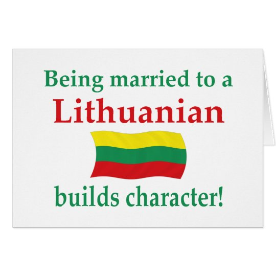 Lithuanian Builds Character Card