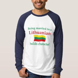 Lithuanian Builds Character Shirt