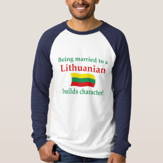 Lithuanian Builds Character T-Shirt