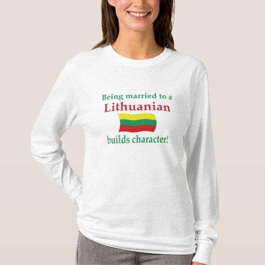 Lithuanian Builds Character T-Shirt