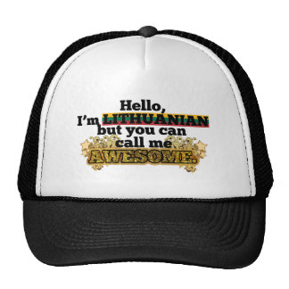 Lithuanian, but call me Awesome Trucker Hat