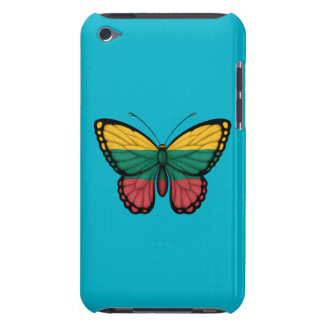 Lithuanian Butterfly Flag Barely There iPod Cover
