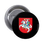 Lithuanian coat of arms 2 inch round button
