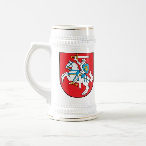 Lithuanian Coat of Arms stein Mugs