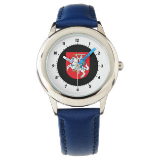 Lithuanian coat of arms wristwatch