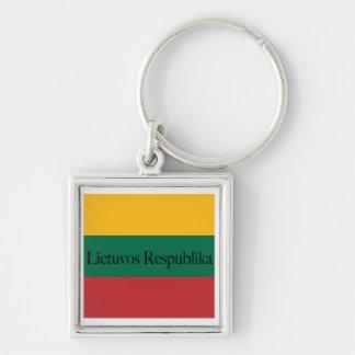 Lithuanian Colors Keychain