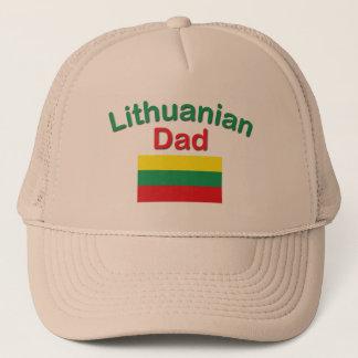 Lithuanian Dad Trucker Hat