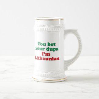 Lithuanian Dupa 2 Jarra De Cerveza
