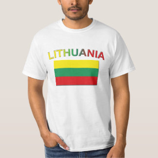 Lithuanian Flag 4 T-Shirt