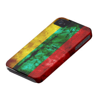 Lithuanian Flag Case-Mate iPhone 4 Cases