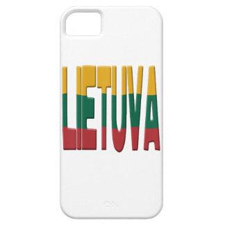 Lithuanian flag iPhone SE/5/5s case