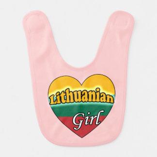 Lithuanian Girl Baby Bib