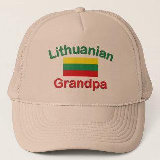 Lithuanian Grandpa Trucker Hat