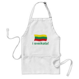 Lithuanian i sveikata! (Cheers!) Adult Apron