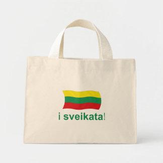 Lithuanian i sveikata! (Cheers!) Mini Tote Bag