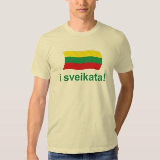 Lithuanian i sveikata! (Cheers!) Tee Shirt