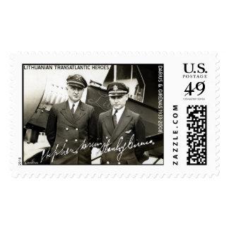 Lithuanian Pilots Darius & Girenas Postage
