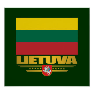 Lithuanian Pride Poster
