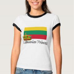 lithuanian princess t-shirts