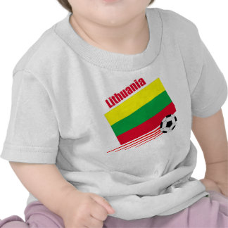 Lithuanian Soccer Team T Shirts