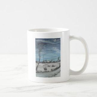 lithuanian winter coffee mug