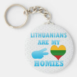 Lithuanians are my Homies Key Chains