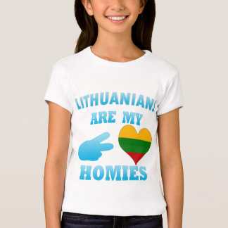 Lithuanians are my Homies T-Shirt