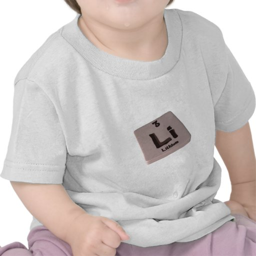 Litio de Li Camiseta