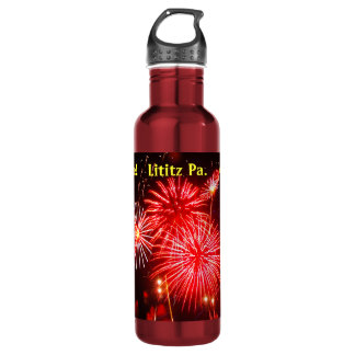 Lititz 4th of July Water Bottle, Add your Store. Water Bottle