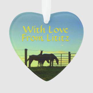 Lititz Ornament! Farm Life! Personalize on Back! Ornament