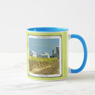 Lititz Pa. Come Back! County Farm. Amish Proverb Mug